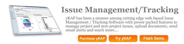 web based issue tracking software system in use